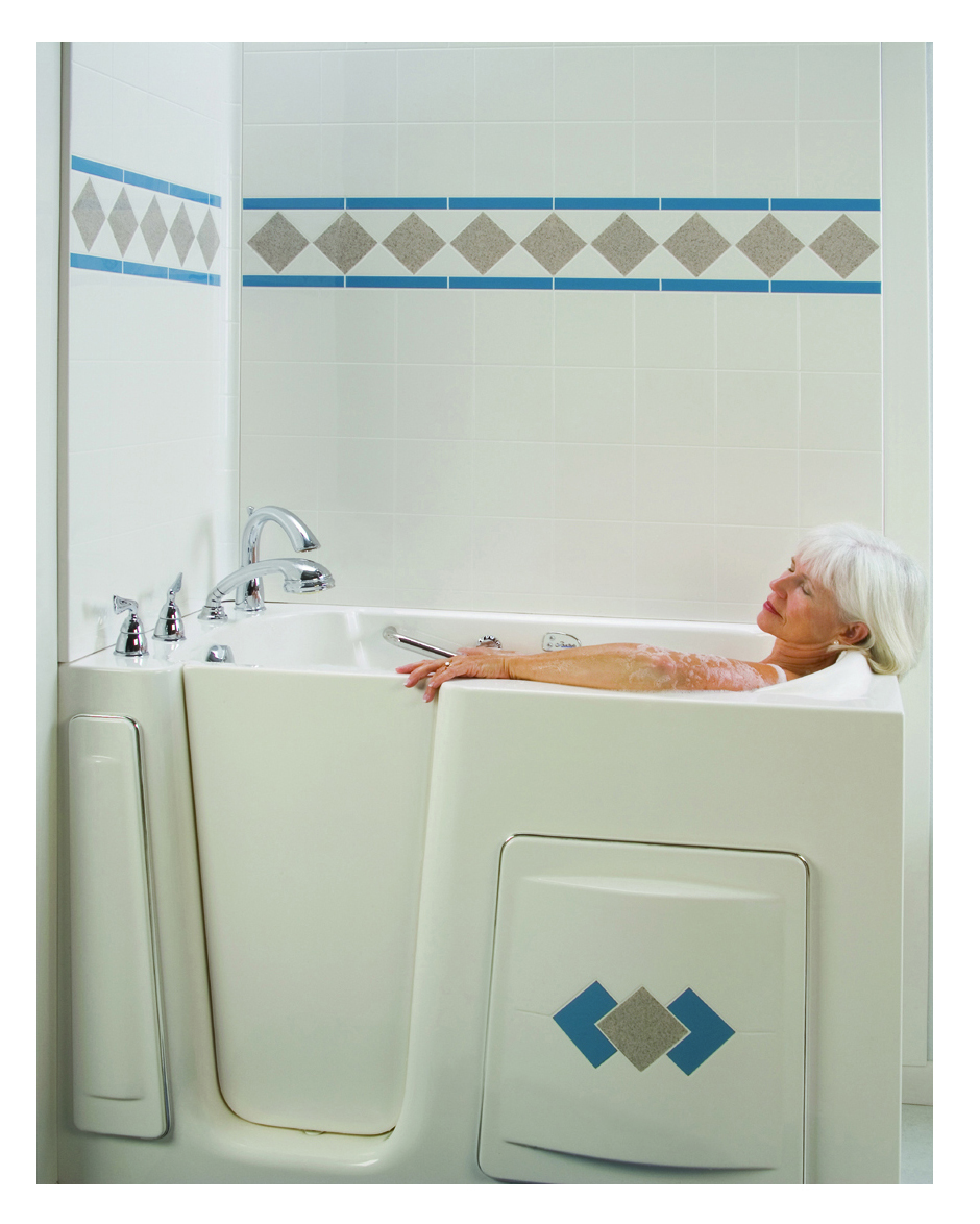 Walk In Shower Water Barrier : Escape tub quot barrier free