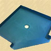 Barrier Free Shower Pan ADA Handicap Shower Base Barrier Free